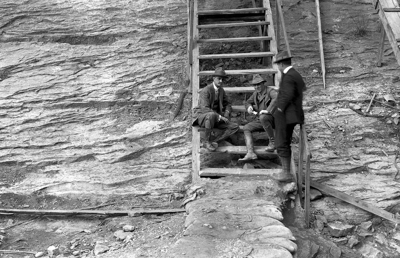 El propietari de La Canadenca a la presa de Talarn Foto Villanueva j. S./Endesa