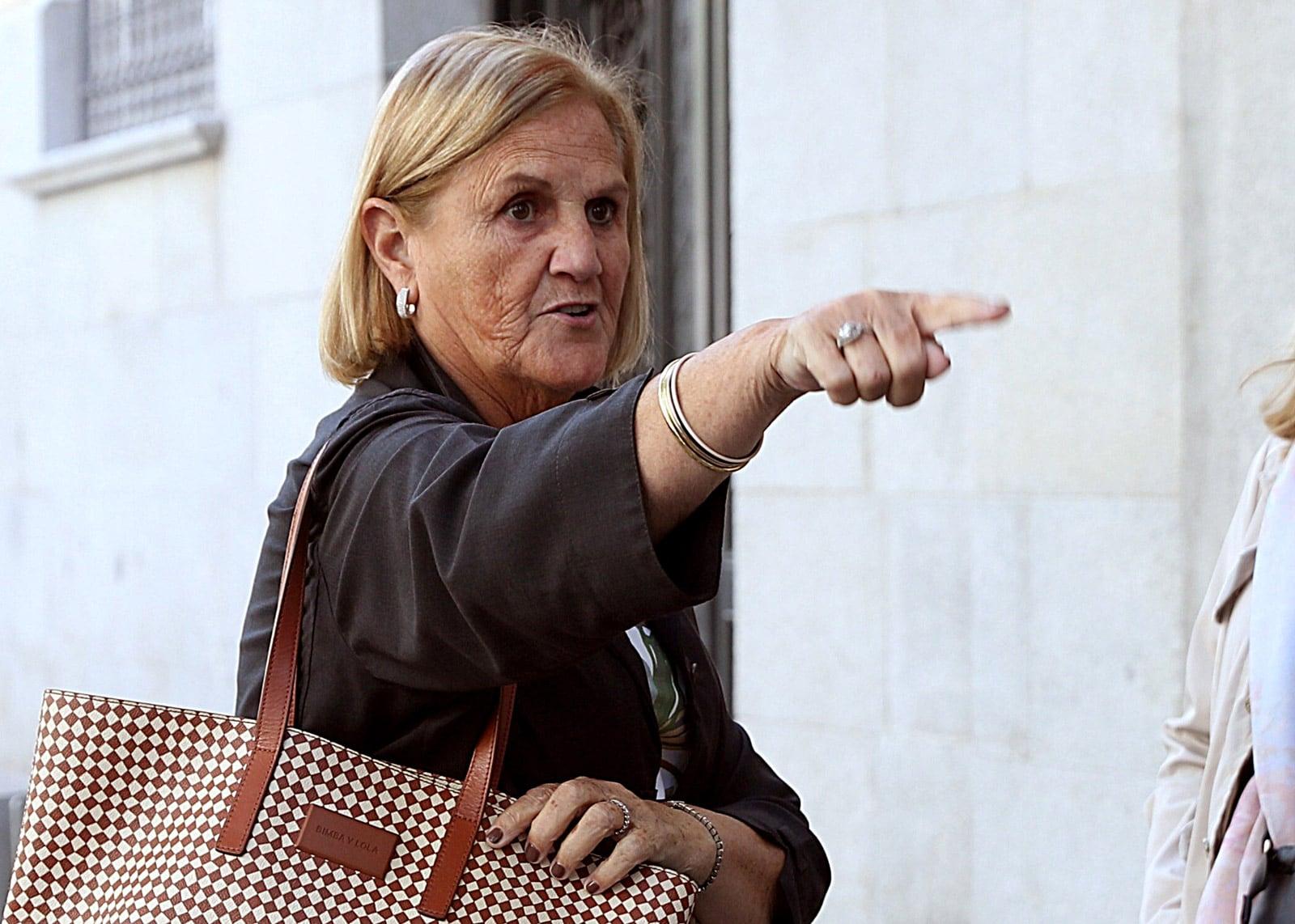 L'expresidenta del Parlament Núria de Gispert en una imatge del 2018. © J.J. Guillén/Efe