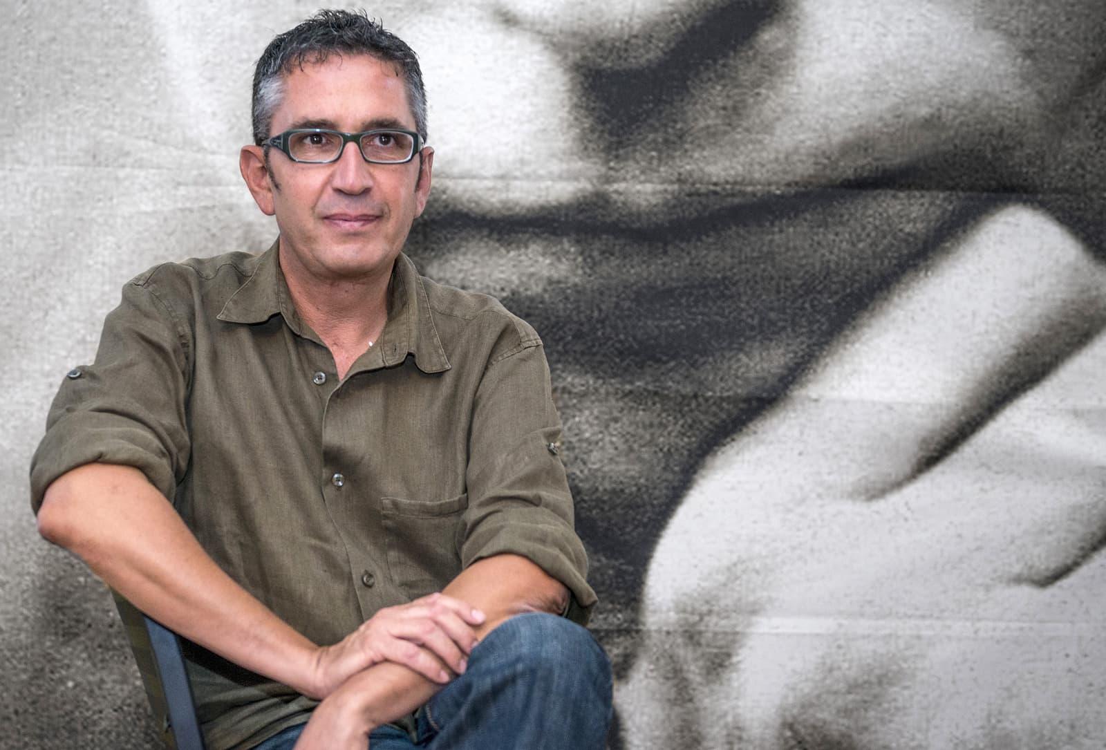 L'escriptor Manuel Baixauli el 2015 a l'Ateneu de Barcelona. Fotografia de Ferran Sendra
