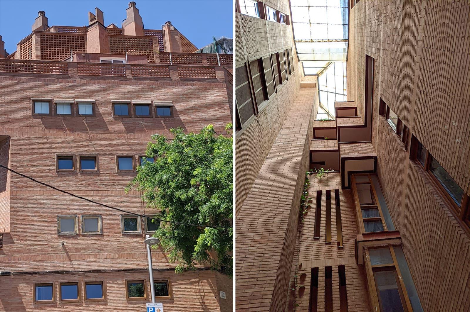 La Casa Fullà al carrer Gènova del Guinadó. Fotografies de Quim Mañas.