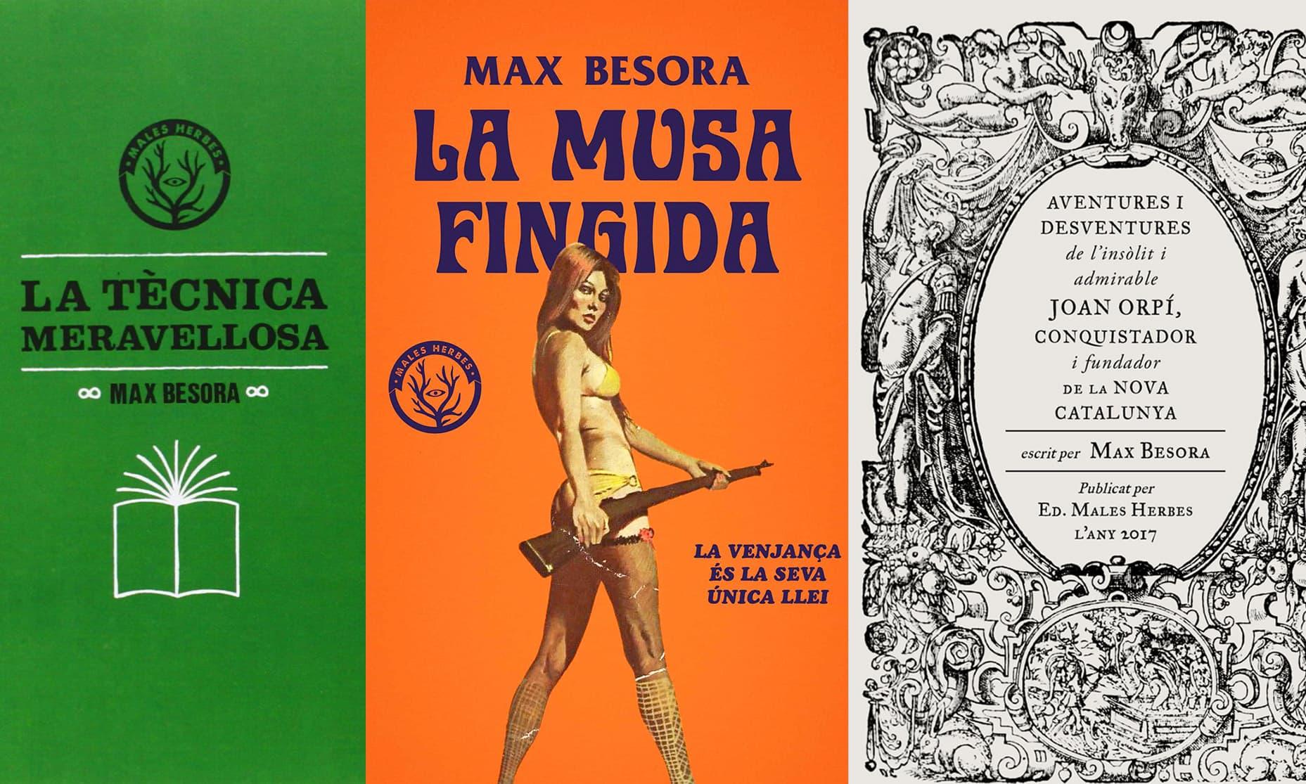 Tres últimes obres de Max Besora