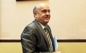 Boi Ruiz el 2012, quan era Conseller de Salut. Fotografia de Toni Albir. Efe.
