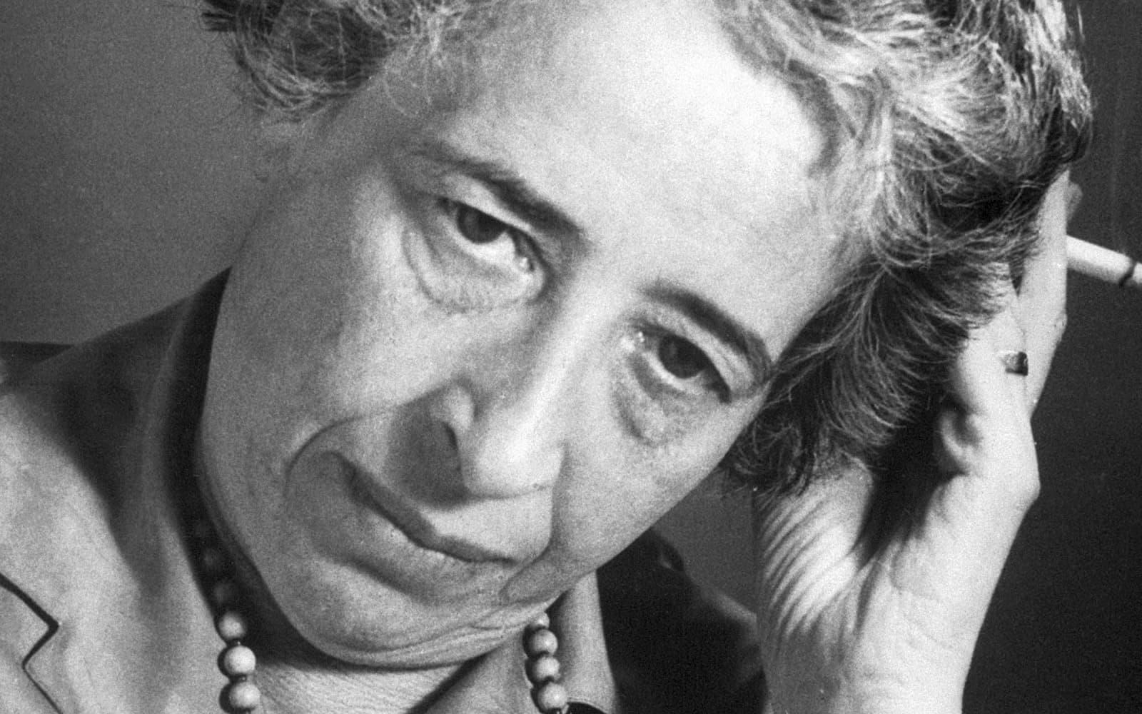 Hannah Arendt el 1963. © Bettmann Getty Images.