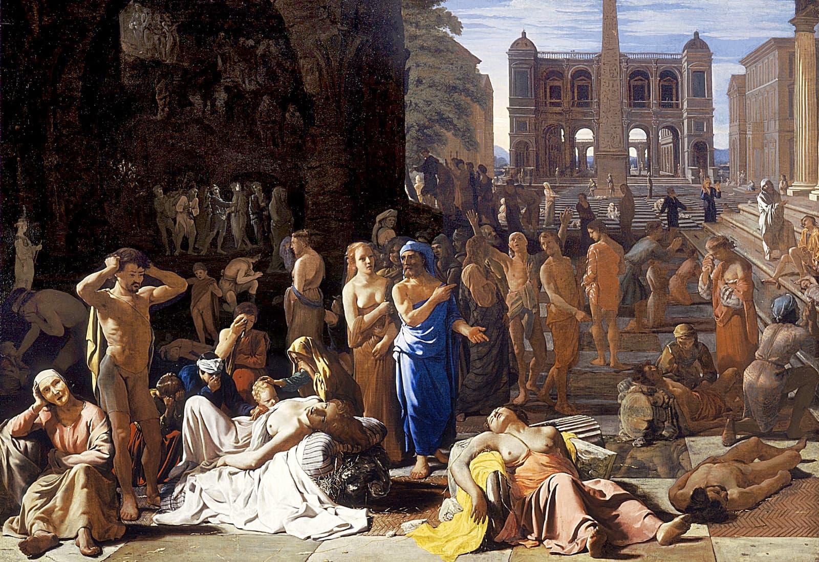 La Pesta d'Atenes de Michiel Sweerts, 1652–1654.