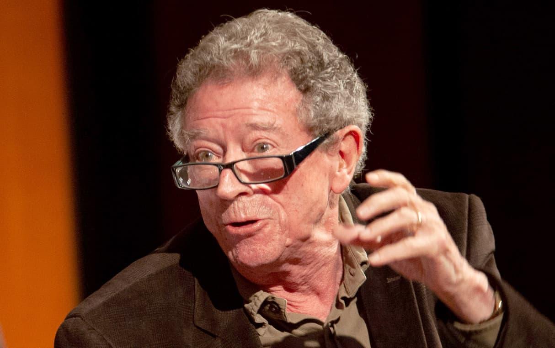 Alberto Blecua Pedices, el 2012, en una conferència a Barcelona. Fotografia de Wikipedia. Creative Commons.