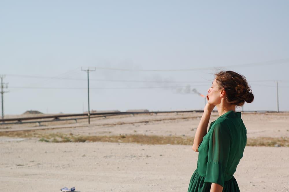 Fotografia de la portada d'Una dacha en el Golfo. © Laura Flores