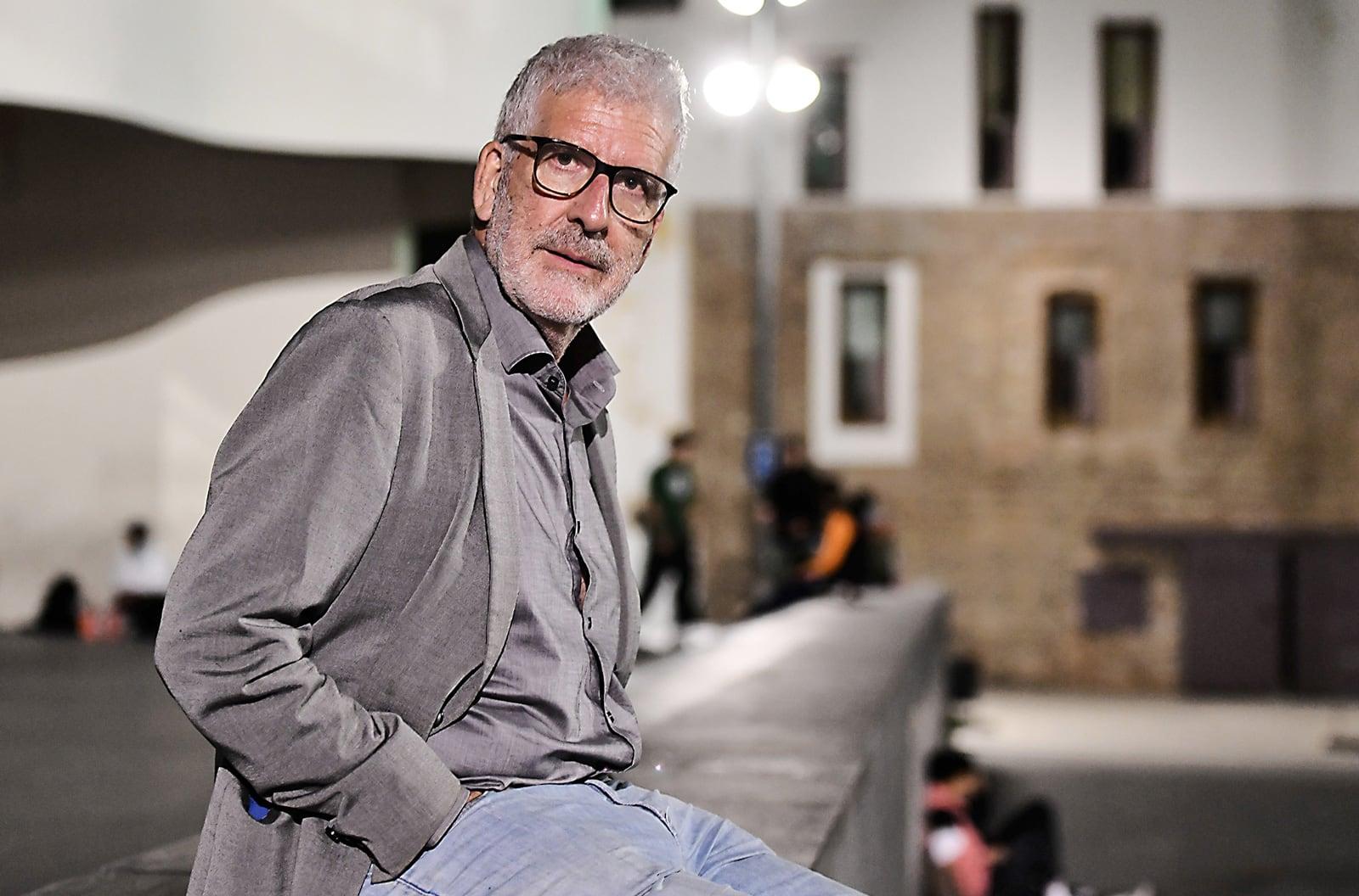 Gregorio Luri, l'octubre de 2020, al barri del Raval de Barcelona. Fotografia de Xavier Jubierre.