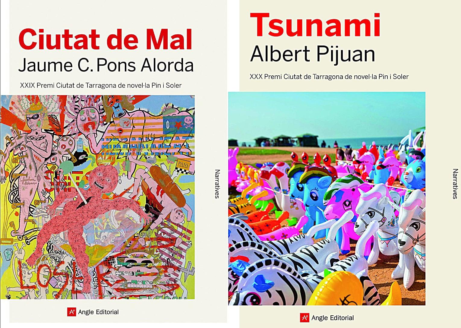 Ciutat de Mal de Jaume C. Pons Alorda i Tsunami d'Albert Pijuan.