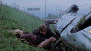 James Spader i Deborah Kara Unger en una escena de Crash, de David Cronenberg.