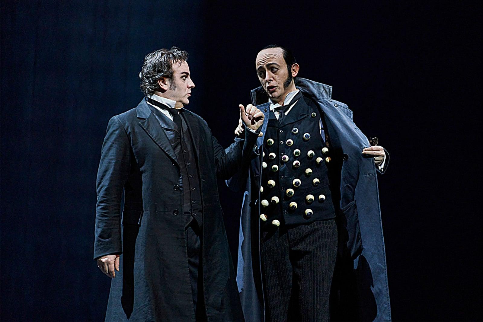 Òpera Les contes d'Hoffmann al Liceu, al gener. Fotografia de David Ruano.