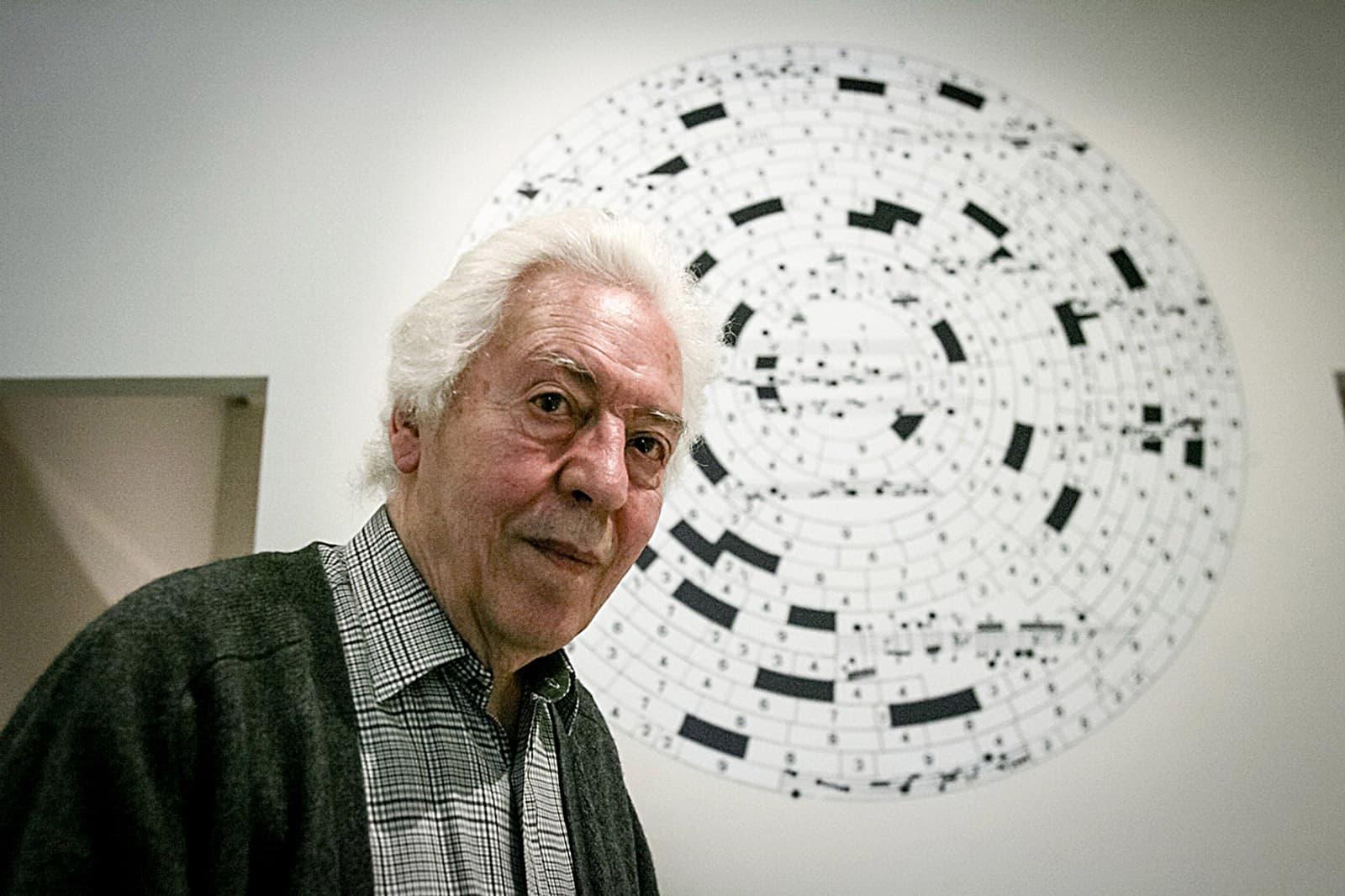 Josep Maria Mestres Quadreny al Centre d'Art Santa Mònica, el 2010. Fotografia de Robert Ramos.