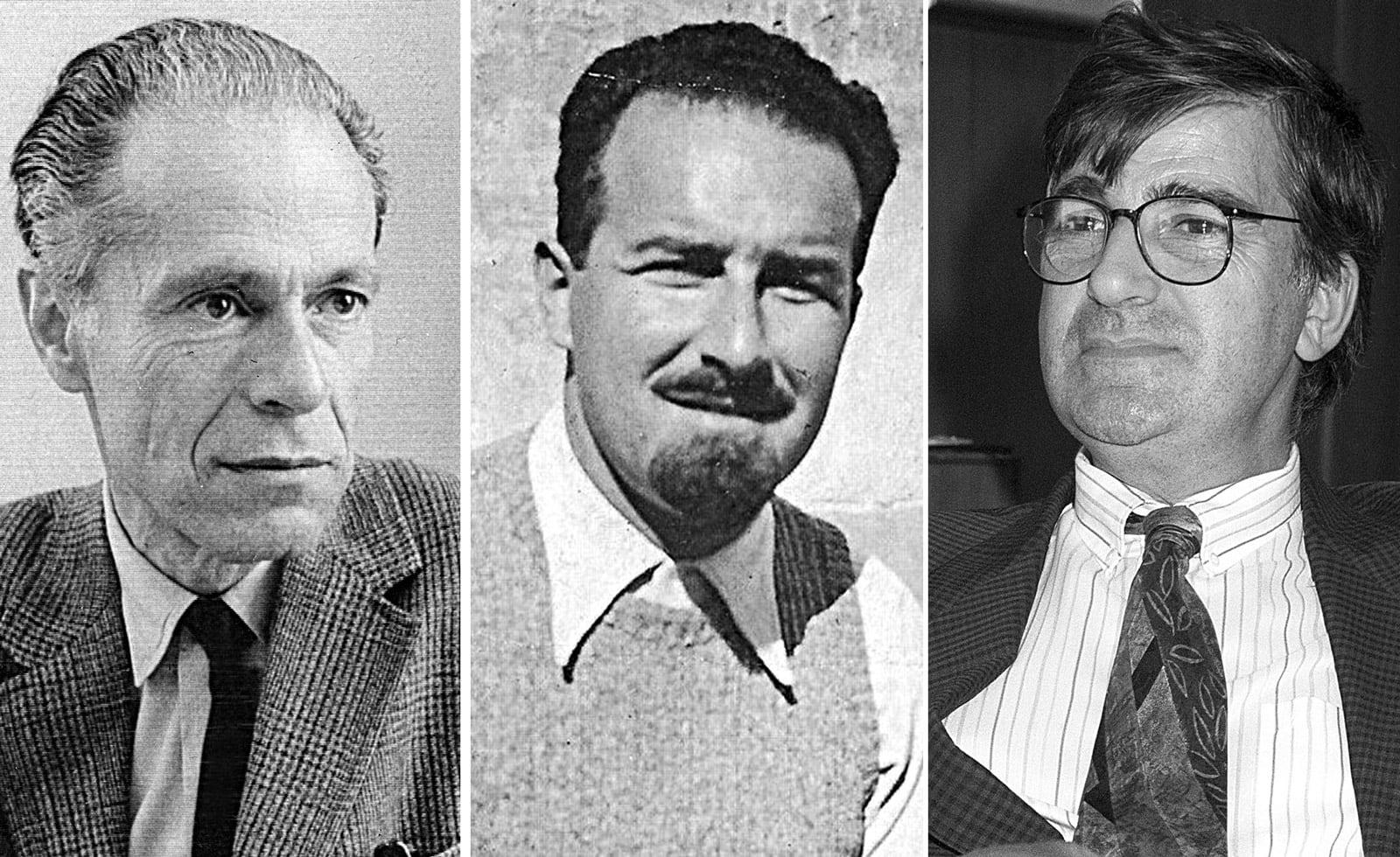 Albert O. Hirschman, Eugenio Colorni i Ernest Lluch.