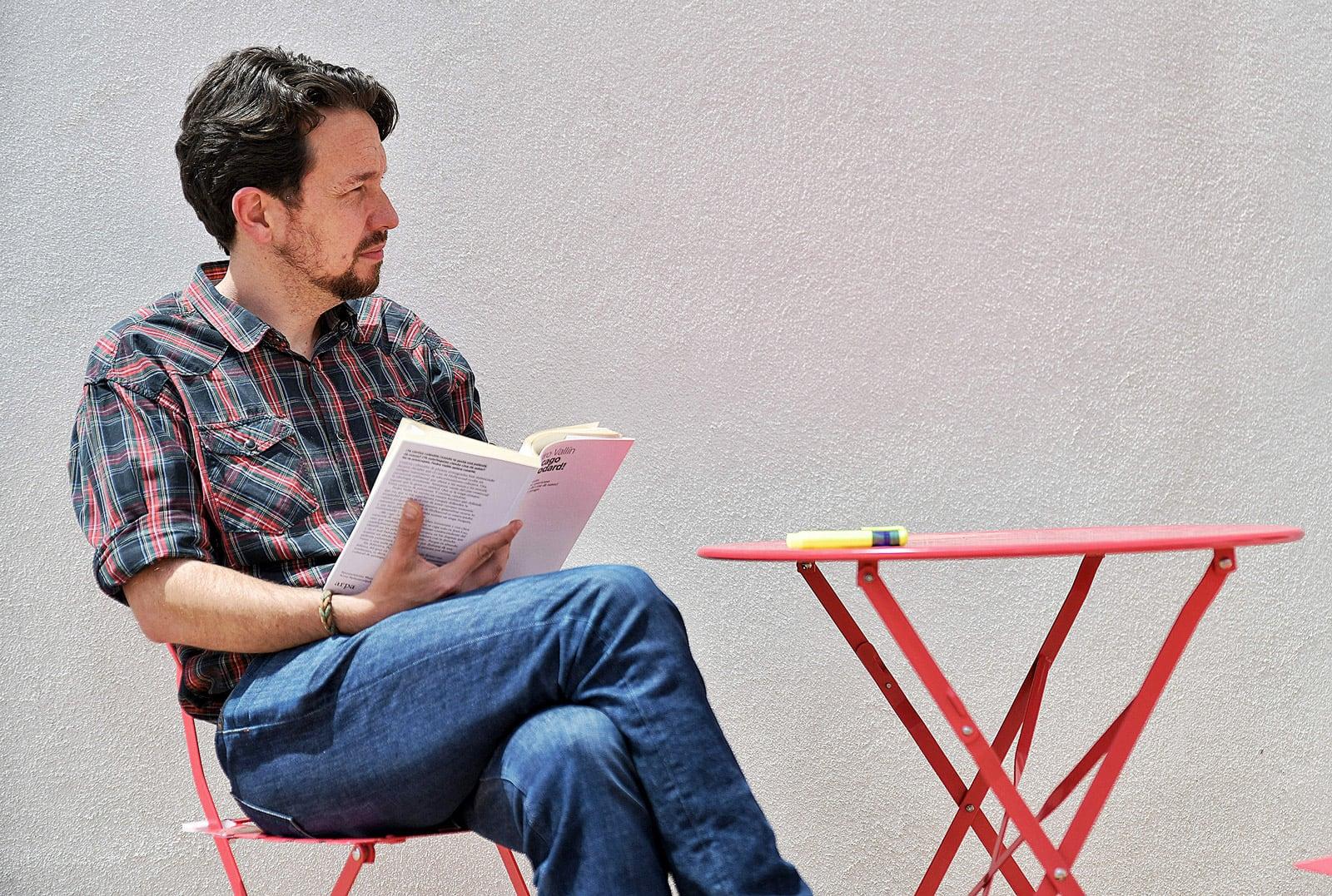 Pablo Iglesias, sense cua, el 12 de maig, uns dies després d'haver anunciat que es retirava de la política. Fotografia de Dani Gago. AFP.