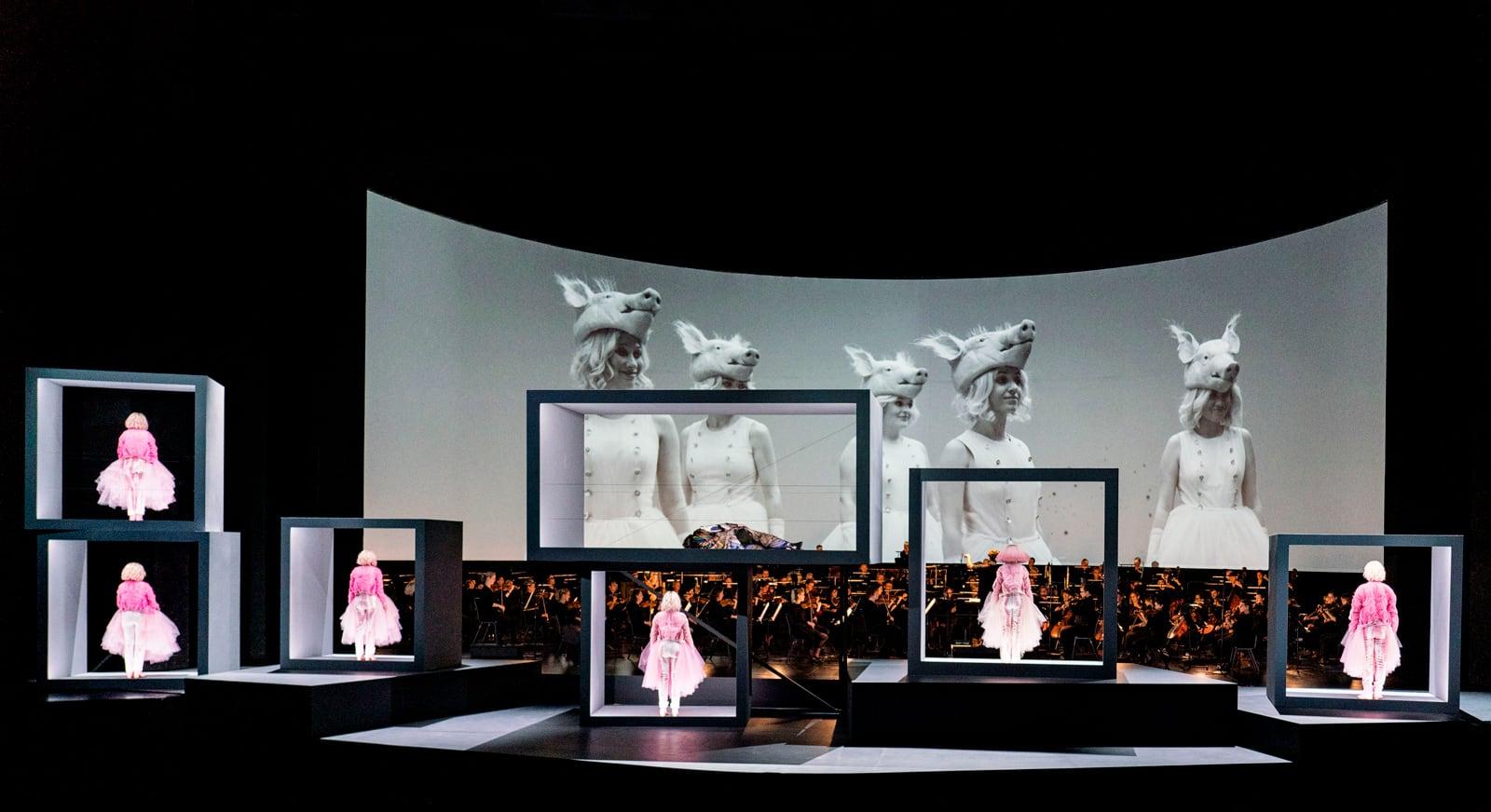 Una escena de 'Der Zwerg', de Zemlinsky, a l'Òpera Nacional holandesa.