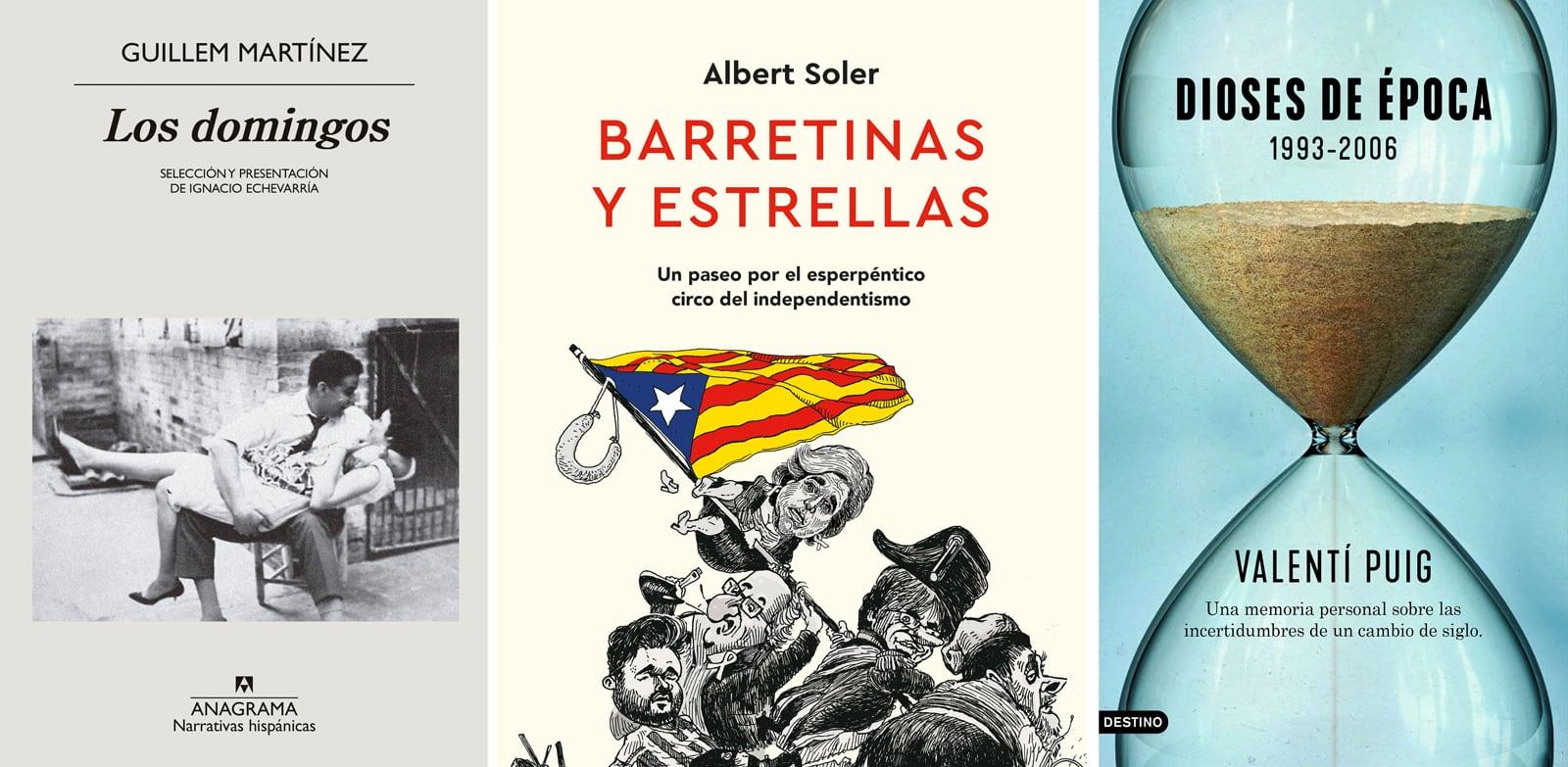 Guillem Martínez Los domingos Valentí Puig Dioses de época (1993-2006) Albert Soler Barretinas y estrellas